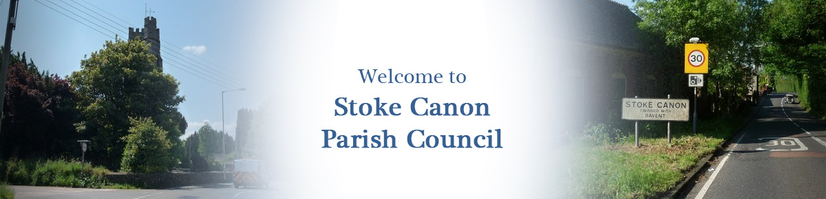 Header Image for Stoke Canon Parish Council